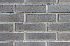 Beschaffenheit einer dekorativen Backsteinmauer Lizenzfreie Stockbilder