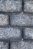 Beschaffenheit einer großen Blocksteinwand Stockfotografie