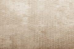 Beschaffenheit einer Maurerarbeit in den hellen beige Tönen Lizenzfreie Stockfotos