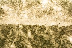Beschaffenheit einer rauen tiefen abstrakten Oberfläche, unscharfes ackground Stockbild