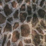 Beschaffenheit einer Wand vom verschiedenen Stein blockiert die Schaffung eines Musters, Lizenzfreie Stockfotos