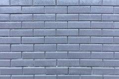 Beschaffenheit einer Wand von einem grauen Ziegelstein Stockbilder