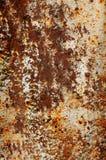 Beschaffenheit eines alten verrosteten Metalleisenblattes Rostbeschaffenheitshintergrund Lizenzfreie Stockfotos