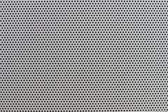 Beschaffenheit eines grauen schäbigen Plastikgitters Lizenzfreies Stockbild