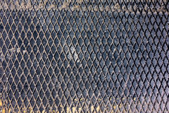 Losange Metallbeschaffenheit Stockfoto