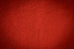 Beschaffenheit eines roten Betons Stockfoto