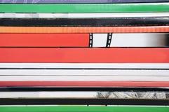 Beschaffenheit eines Stapels der Bücher und der Zeitschriften Lizenzfreies Stockfoto