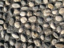 Beschaffenheit gemacht von den Felsen Stockfotografie