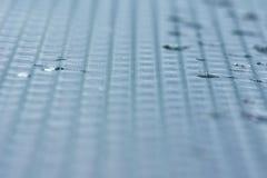 Beschaffenheit ` Glas, Nebel, lässt ` fallen Hintergrund blured Lizenzfreie Stockfotografie