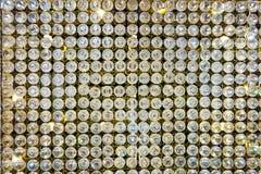 Beschaffenheit, Glasstücke, Glas, Glasglanz Lizenzfreies Stockbild