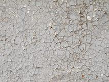 Beschaffenheit, Hintergrund der Naturholzplanke mit gebrochener grauer Farbe Lizenzfreie Stockfotografie