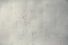 Beschaffenheit, Hintergrund Metallrostige gemalte Platte Stockfoto