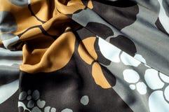 Beschaffenheit, Hintergrund, Muster Abstraktes Muster auf einem Seidengewebe, Stockfotos