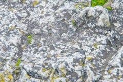 Beschaffenheit, Hintergrund, Muster alte Granitsteine Ein alter Stein w Lizenzfreies Stockfoto