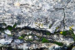 Beschaffenheit, Hintergrund, Muster alte Granitsteine Ein alter Stein w Stockbild