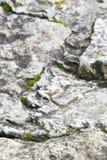 Beschaffenheit, Hintergrund, Muster alte Granitsteine Ein alter Stein w Lizenzfreie Stockbilder