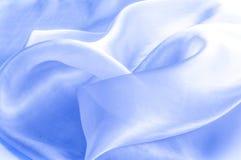 Beschaffenheit, Hintergrund, Muster Blaues silk Gewebe Abstraktes backgro Lizenzfreies Stockbild