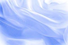 Beschaffenheit, Hintergrund, Muster Blaues silk Gewebe Abstraktes backgro Lizenzfreie Stockfotografie