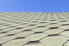 Beschaffenheit, Hintergrund, Muster Dachziegel flexibel, weich, bituminös, zusammengesetzt lizenzfreie stockfotos