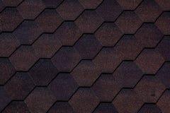 Beschaffenheit, Hintergrund, Muster Dachziegel flexibel, weich, bituminös, zusammengesetzt stockbild
