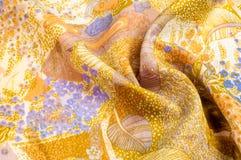Beschaffenheit, Hintergrund, Muster Silk abstraktes Muster des Gewebes auf b Stockfotografie