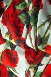 Beschaffenheit, Hintergrund, Muster Stoff-Silk abstraktes Muster Auf Th Lizenzfreie Stockfotografie