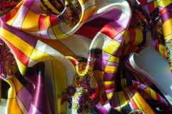 Beschaffenheit, Hintergrund, Muster Stoff-Silk abstraktes Muster exist Lizenzfreie Stockbilder