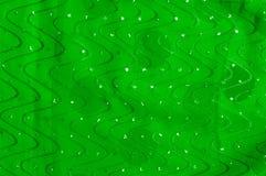 Beschaffenheit, Hintergrund, Mustermädchenkleid seide Grün-Silber mit Lizenzfreie Stockfotos