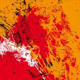 Beschaffenheit im Rot, orange Lizenzfreie Stockbilder