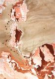 Beschaffenheit. Marmor. Wasserdichtung Lizenzfreies Stockbild
