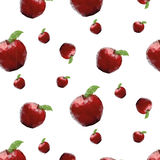 Beschaffenheit mit Äpfeln Lizenzfreie Stockfotografie