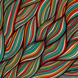 Beschaffenheit mit abstrakten Wellen. Endloser Hintergrund Lizenzfreie Stockfotografie