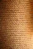 Beschaffenheit mit Seil stockbilder