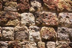 Beschaffenheit, Muster, Wand, Stein, quadriert Lizenzfreies Stockfoto