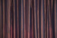 Beschaffenheit oder Hintergrund des Vorhangs oder des Drapierung Stockbild