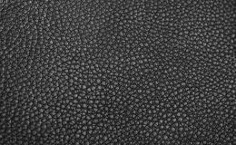 Beschaffenheit - schwarzes Leder Stockfoto