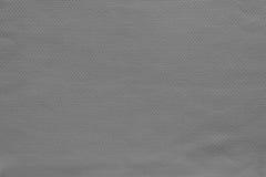 Beschaffenheit und Hintergrund der Baumwollgewebe-Graufarbe Stockfoto