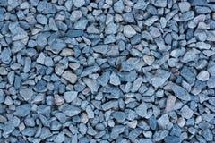 Beschaffenheit und Hintergrund des blauen Steins Stockfotos