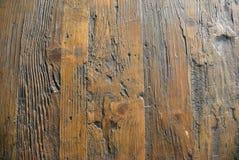 Beschaffenheit von alten hölzernen Planken der Entlastung Stockfotos