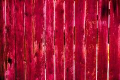 Beschaffenheit von alten hölzernen Planken mit gebrochener und geschmierter Farbe Lizenzfreies Stockbild