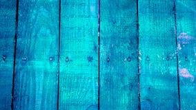 Beschaffenheit von alten hölzernen Planken mit gebrochener und geschmierter Farbe Stockfotos
