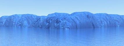 Beschaffenheit von Antarktis Stockfotos