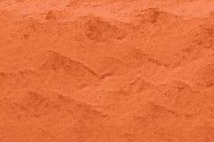 Beschaffenheit von Bauxitmineralien, von orange Boden und von Erdprobe vektor abbildung