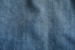 Beschaffenheit von Blue Jeans als Hintergrund stockfotografie