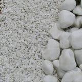 Beschaffenheit von dekorative Steine für Garten Lizenzfreie Stockbilder