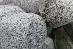 Beschaffenheit von dekorative Steine für Garten Stockbilder