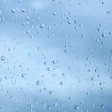 Beschaffenheit von den Tröpfchen des Regenwassers Lizenzfreie Stockbilder