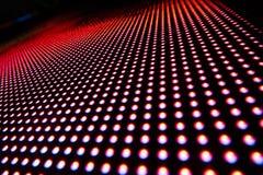 Beschaffenheit von farbigen LED-Lichtern Lizenzfreie Stockbilder