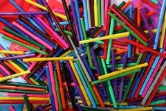 Beschaffenheit von Farbmarkierungen Lizenzfreie Stockfotos