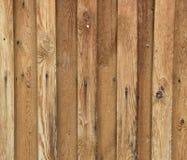Beschaffenheit von genagelten Holzverkleidungen Stockfotos